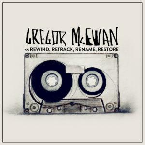 1st SINGLE | << REWIND, RETRACK, RENAME, RESTORE | COVER ARTWORK