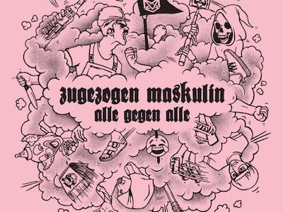 """""""Alle gegen Alle"""" von Zugezogen Maskulin steigt auf #14 in die Charts ein!"""
