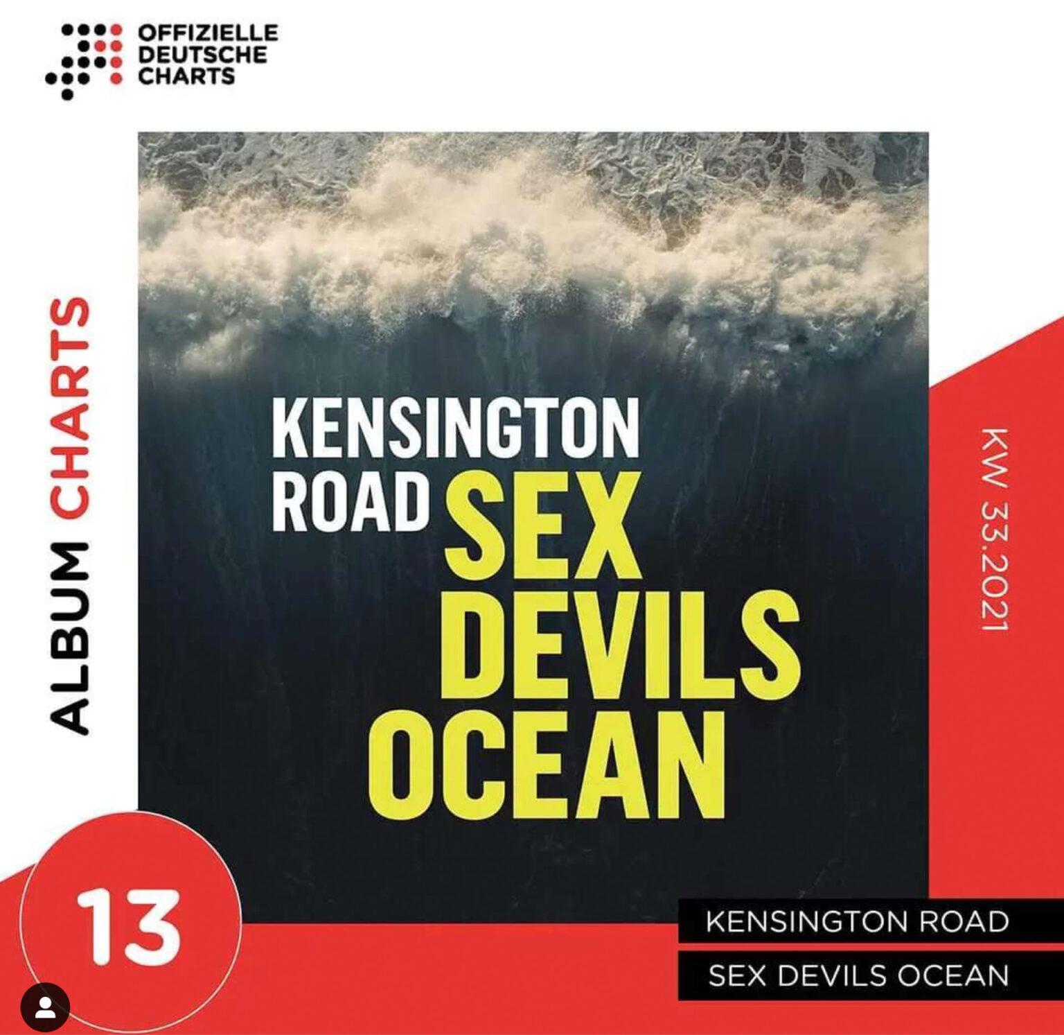 Kensington Road - Auf Platz 13 der Albumcharts - s'läuft! Radio-Promotion